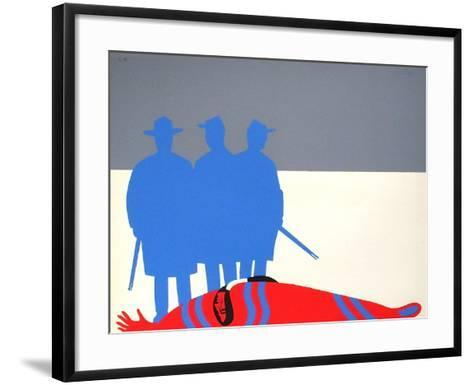 Les Indiens II-Jean Coulot-Framed Art Print