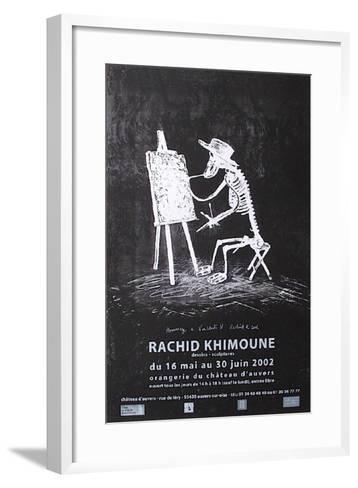 Expo Château D'Auvers-Rachid Khimoune-Framed Art Print