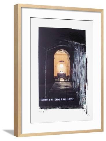 Festival D'Automne-Tadashi Kawamata-Framed Art Print