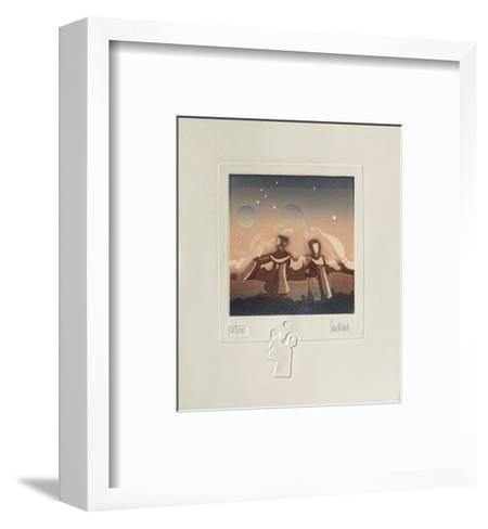 Extra-Terrestres I-Antonio Andivero-Framed Art Print