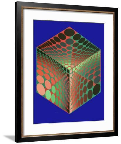 Tupa-2-Victor Vasarely-Framed Art Print