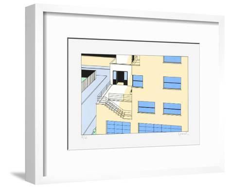 Paris, Rue Mallet-Stevens 07-Jean-Pierre Lyonnet-Framed Art Print