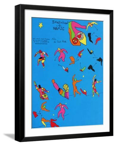Invitation ? La Danse-Niki De Saint Phalle-Framed Art Print