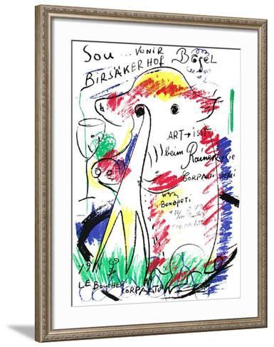 Souvenir-Jean-Pierre Corpaato-Framed Art Print
