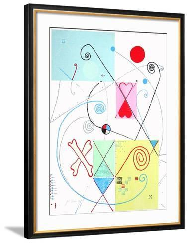 L'os du cosmos-Jacques & Catherine Pineau-Framed Art Print