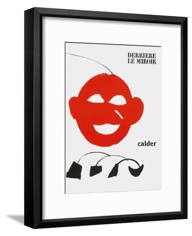 Derrier le Mirroir, no. 221: Couverture-Alexander Calder-Framed Art Print