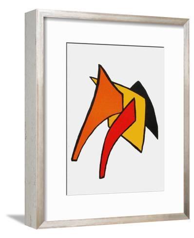 Derrier le Mirroir, no. 141: Stabiles VI-Alexander Calder-Framed Art Print