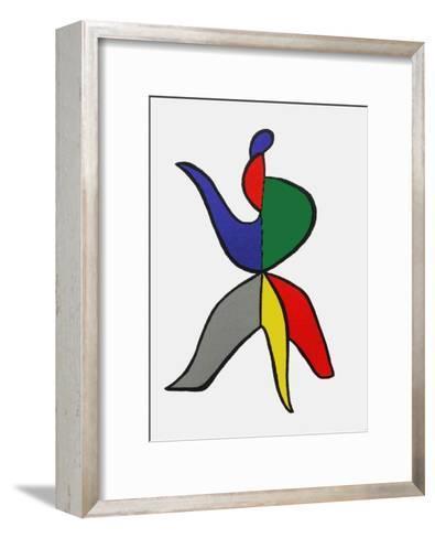 Derrier le Mirroir, no. 141: Stabiles VIII-Alexander Calder-Framed Art Print
