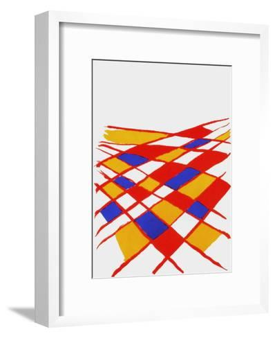 Derrier le Mirroir, no. 190: Composition II-Alexander Calder-Framed Art Print