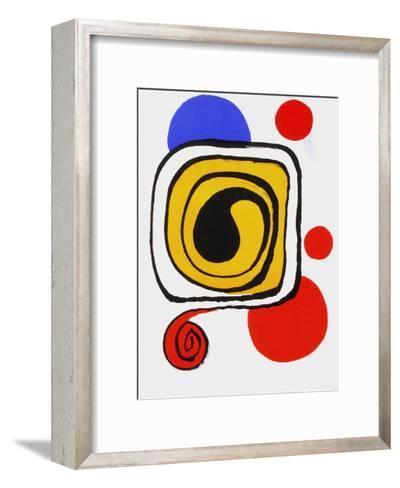 Derrier le Mirroir, no. 190: Composition III-Alexander Calder-Framed Art Print