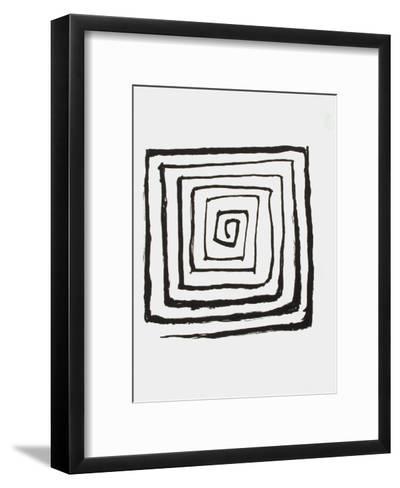 Derrier le Mirroir, no. 190: Composition V-Alexander Calder-Framed Art Print