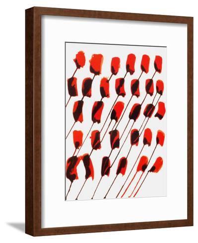 Derrier le Mirroir, no. 156: Composition Taches Rouges-Alexander Calder-Framed Art Print