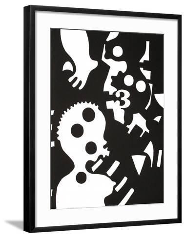 Inframonde 1-Jos? De Guimaraes-Framed Art Print