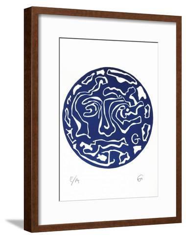 Masque V-Theophilos Geredakis-Framed Art Print