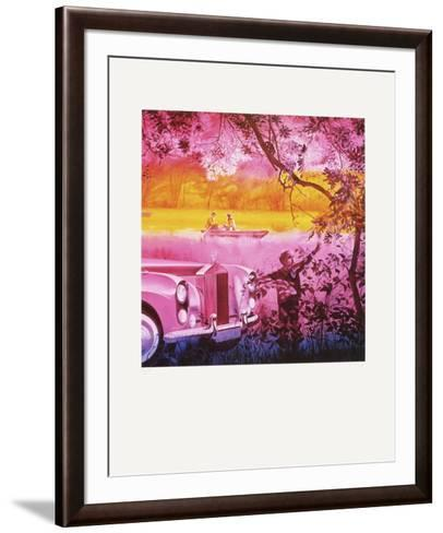 SimpIIcit?-Jacques Monory-Framed Art Print