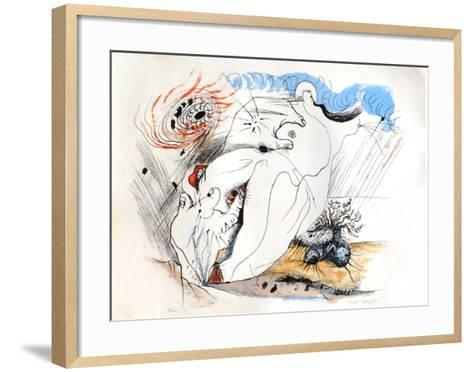 Erotica Ii-Andr? Masson-Framed Art Print