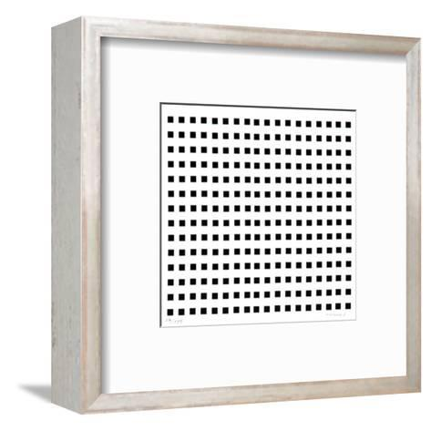 Rythme Du MilIIm?tre-Aur?lie Nemours-Framed Art Print