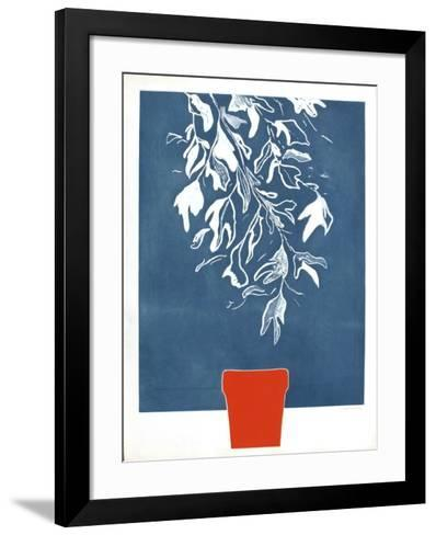 Feuillage Bleu-Doroteo Arnaiz-Framed Art Print