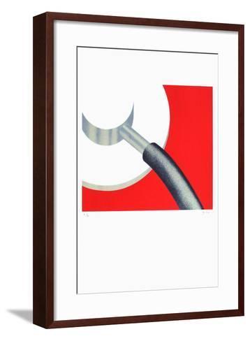 Grenoble - M?decine-Alberto Bali-Framed Art Print