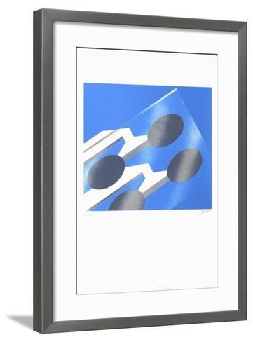 Grenoble - Verre-Alberto Bali-Framed Art Print