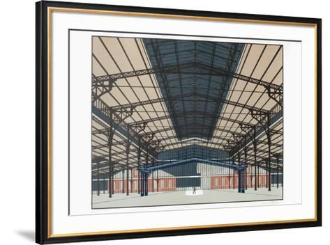 La Villette VI-Alberto Bali-Framed Art Print