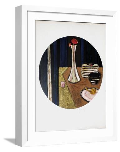 Le SoIIflore-Ren? Genis-Framed Art Print