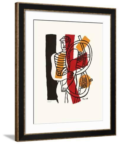 Le CycIIste I-Fernand Leger-Framed Art Print