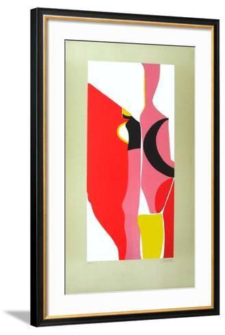Composition Abstraite II-Georges Csato-Framed Art Print