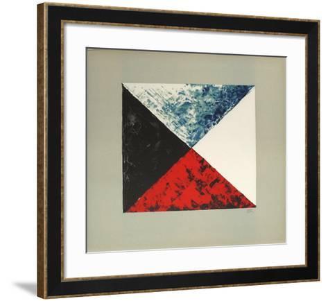 Marchand De Couleurs-Man Ray-Framed Art Print