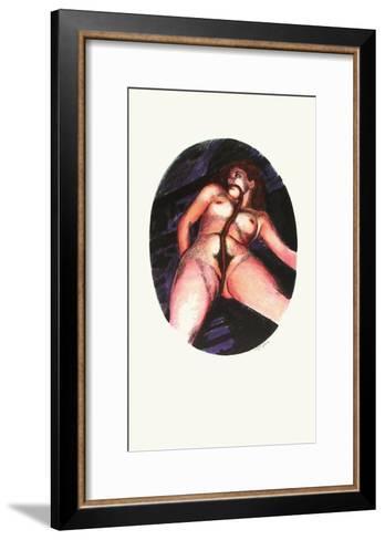 L'?pikon VIII-Roland Topor-Framed Art Print