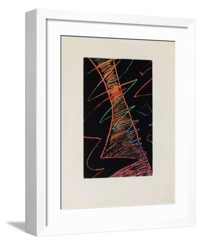 Sur La Lune-Man Ray-Framed Art Print
