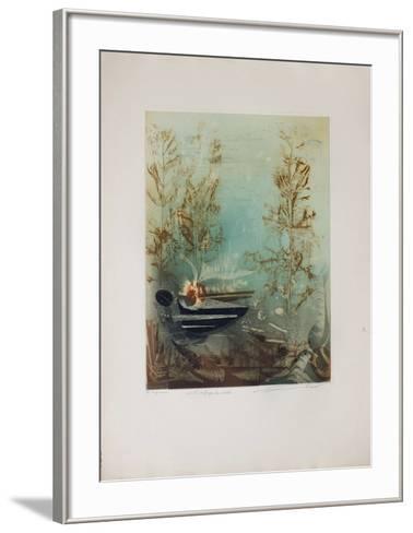 Le Refuge Du Pirate--Framed Art Print