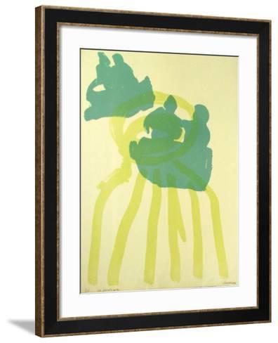 Composition I-Manuel Amorim-Framed Art Print