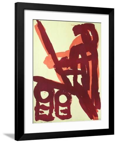 Composition II-Manuel Amorim-Framed Art Print