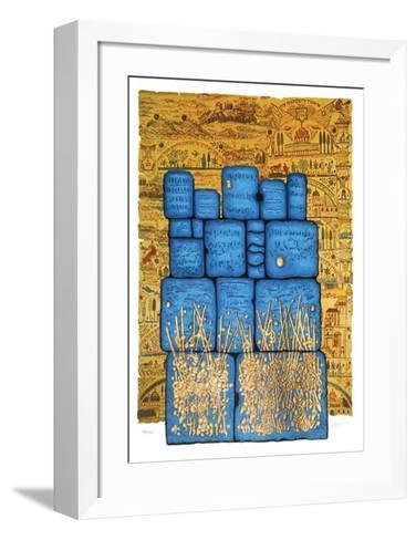 Hakotel-Mosh? Castel-Framed Art Print