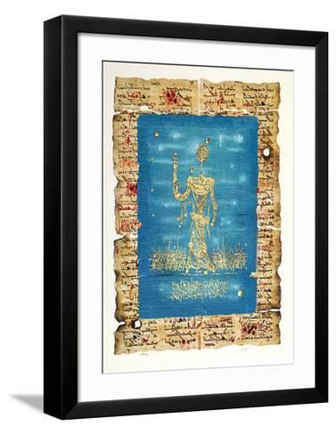 Moses-Mosh? Castel-Framed Art Print