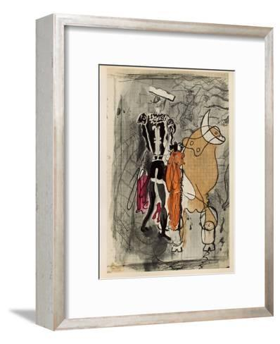 Carnets Intimes 13-Georges Braque-Framed Art Print