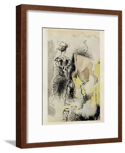 Carnets Intimes 14-Georges Braque-Framed Art Print