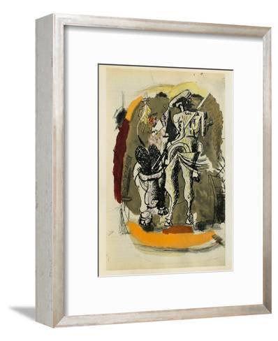 Carnets Intimes 15-Georges Braque-Framed Art Print