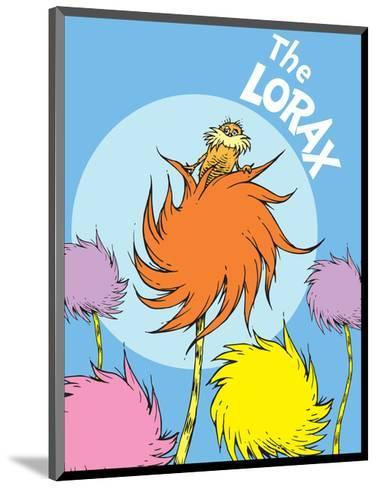 The Lorax (on blue)-Theodor (Dr. Seuss) Geisel-Mounted Art Print