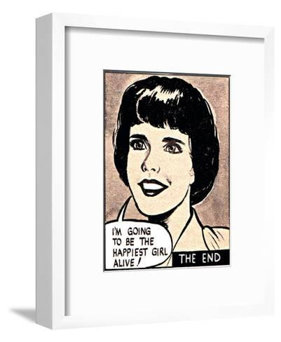 I'm Going To Be The Happiest Girl Alive-Roy Newby-Framed Art Print