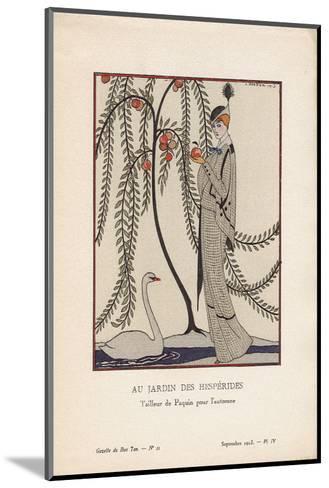 Au Jardin Des Hesperides-Georges Barbier-Mounted Art Print