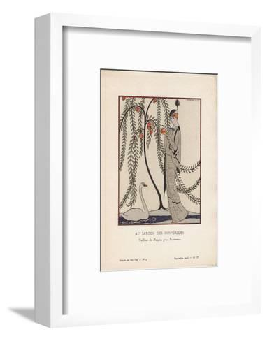Au Jardin Des Hesperides-Georges Barbier-Framed Art Print