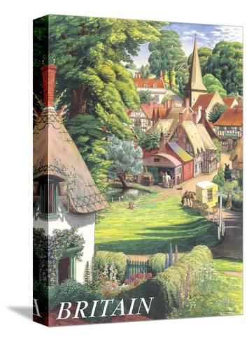 Britain Countryside, c.1950s-S^R^ Badmin-Stretched Canvas Print