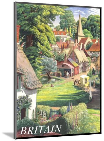 Britain Countryside, c.1950s-S^R^ Badmin-Mounted Art Print