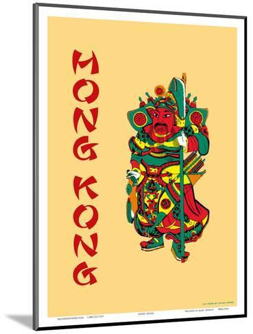 Hong Kong--Mounted Art Print