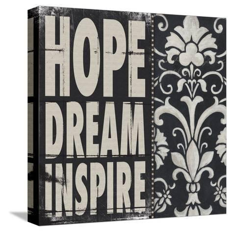 Hope Dream Inspire-Stephanie Marrott-Stretched Canvas Print