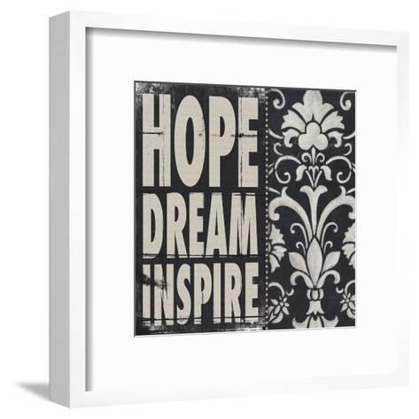 Hope Dream Inspire-Stephanie Marrott-Framed Art Print
