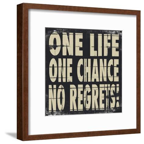 One Life-Stephanie Marrott-Framed Art Print