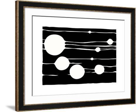 Untitled, c.2009 (black)-Carl Abbott-Framed Art Print